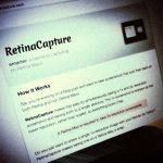 Retinaでもの72dpiのスクリーンショットを撮る「Retina Capture for OS X」。