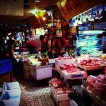 上野センタービルの「地下食品街」でアジアの食材探し。