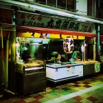 昭和レトロな立石仲見世商店街にある、おでん種販売「丸忠蒲鉾店」。