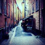 魔女の宅急便の舞台!?ストックホルムの旧市街「ガムラスタン (Gamla stan) 」をチェック。