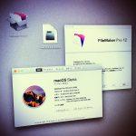FileMaker Pro 12 ✕ Mac OS Sierraで 「このアプリケーションは、正しくインストールされていない」の表示。