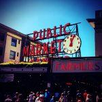 ワシントン・シアトルの観光名所No.1!!「Pike Place Market(パイクプレイスマーケット)」。