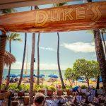 【ワイキキ定番】DUKE'S WAIKIKI(デュークス・ワイキキ)でホテルのチェックイン時間までランチ。